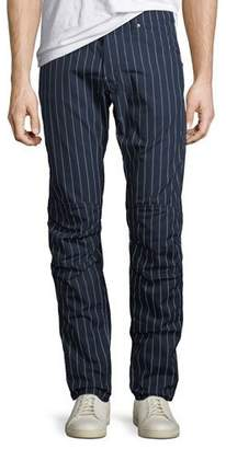 G Star G-Star Men's Pinstriped Tapered Cotton Pants