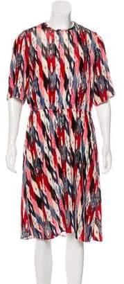 Etoile Isabel Marant Velvet Midi Dress