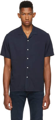 Rag & Bone Navy Avery Shirt