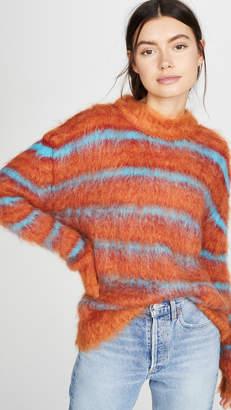 Marni Striped Mohair Sweater