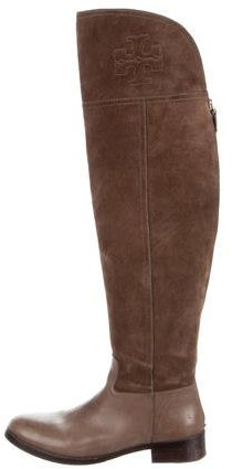 Tory Burch Tory Burch Suede Over-The-Knee Boots