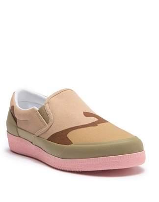 Hunter Canvas Plimsoll Camo Slip-On Sneaker