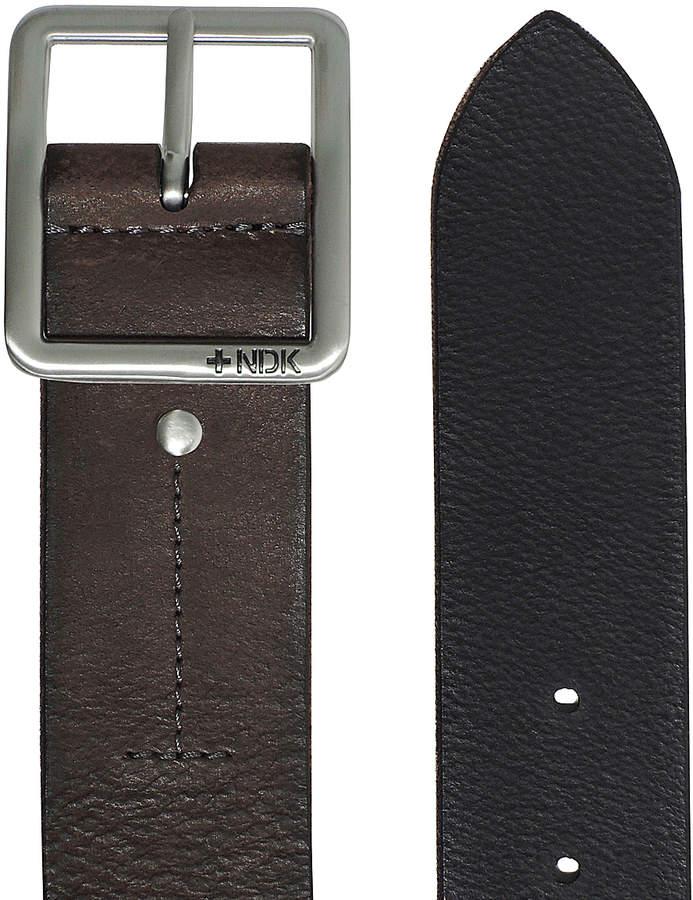 Nutmeg 36'' Cosmopolitan Rugged Reversible Leather Belt