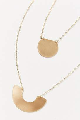Urban Outfitters Brushed Boho Pendant Necklace