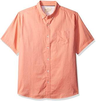 Weatherproof Vintage Men's Short Sleeve Oxford Shirt