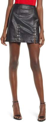 Blank NYC BLANKNYC Limitless Faux Leather Miniskirt