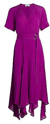 A.L.C. Women's Claire Silk Wrap Dress