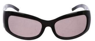 90b9a5a539c06 Fendi Shield Zucca FF Logo Sunglasses
