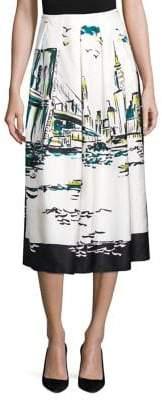 Lafayette 148 New York Sabilla Silk New York Skirt