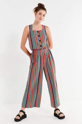 Moon River Striped Paperbag Pant