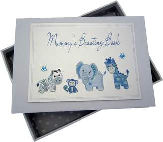 White Cotton Cards Mummy's Boasting Book Photo Album (Tiny Blue)