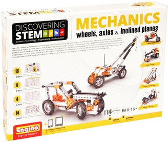 Kohl's Engino STEM Mechanics Wheels, Axles, & Inclines Kit