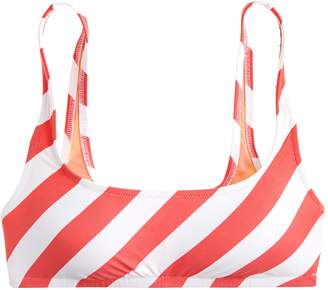 J.Crew Stripe Scoop Neck Bikini Top