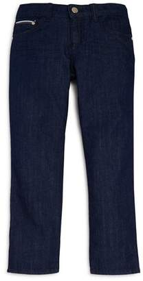 Armani Junior Boys' Dark-Wash Straight-Leg Jeans - Little Kid, Big Kid