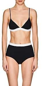 Rochelle Sara Women's Garine Triangle Bikini Top - Black