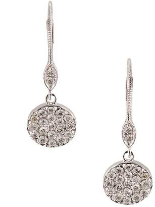 Meira T Women's Diamond and 14K White Gold Drop Earrings