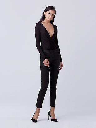 Lala Long Sleeve Bodysuit $248 thestylecure.com