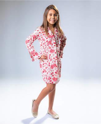 Rosir Carmine Button up Midi Dress