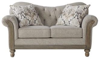 Ophelia & Co. Larrick Fabric Tufted Standard Loveseat & Co.
