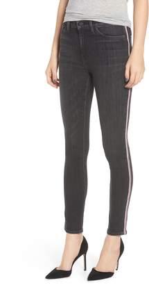 Hudson Jeans Barbara Track Stripe Ankle Skinny Jeans