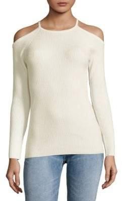 Trina Turk Cold Shoulder Sweater