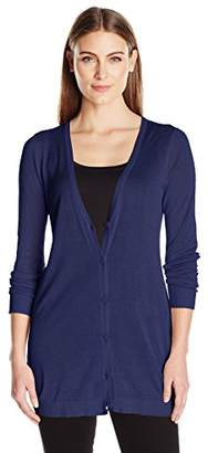 G.H. Bass & Co. Women's Solid Cardigan