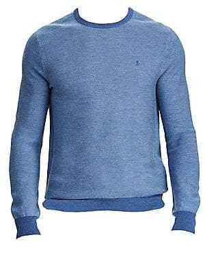 Polo Ralph Lauren Men's Wool Silk& Cashmere Blend Long Sleeve Sweater