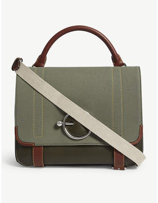 J.W.Anderson Military Disc satchel