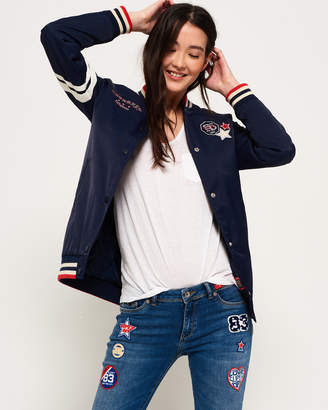 Superdry Pacific Patch Bomber Jacket