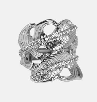 Avenue Diamond Leaf Ring
