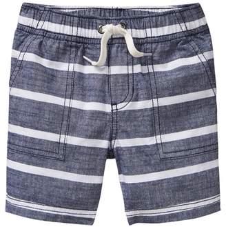 Crazy 8 Stripe Chambray Shorts