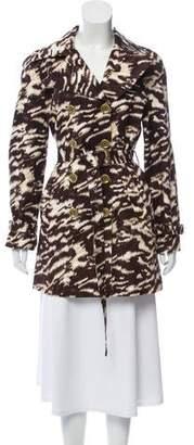 MICHAEL Michael Kors Printed Trench Coat