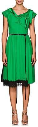 Marc Jacobs Women's Colorblocked Crepe Asymmetric Dress