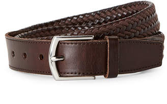 Cole Haan Braided Harness Leather Belt
