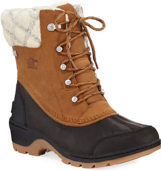 7973fef1d0a Sorel Whistler Mid Waterproof Two-Tone Duck Boots