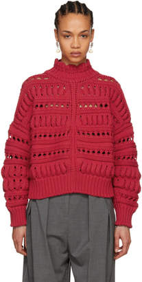 Isabel Marant Red Zoe Sweater