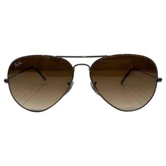 Ray-Ban Silver Metal Sunglasses