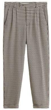 MANGO Houndstooth trousers