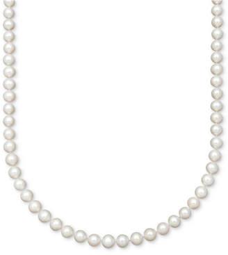 Belle de Mer Cultured Freshwater Pearl Strand Necklace (7-1/2-8-1/2mm) in 14k Gold