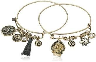 Cara Double Stackable Bracelet Hem Charm Bracelet