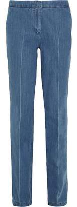 Topshop Whitcomb High-Rise Straight-Leg Jeans