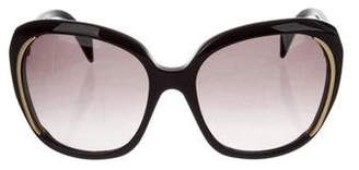 Alexander McQueen Square Oversize Sunglasses