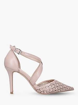 062e0349ca Carvela Kross Strap Stiletto Heel Court Shoes