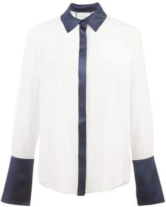Alexis contrast trim shirt