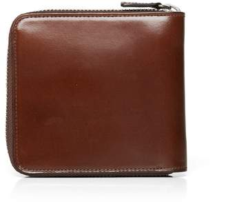 75cd6994f522 Leather Wallet Men Coin Pocket Tan - ShopStyle