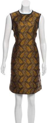 Max Mara 'S Printed Knee-Length Dress