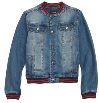 Joe's Jeans Denim Baseball Jacket