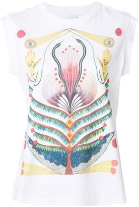Chloé printed sleeveless T-shirt