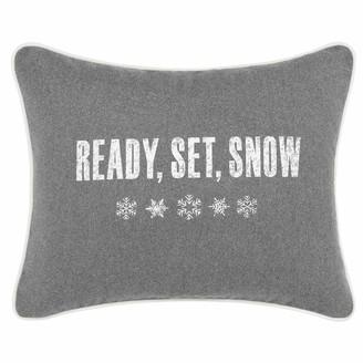 "Eddie Bauer Ready Set Snow"" Breakfast Throw Pillow"