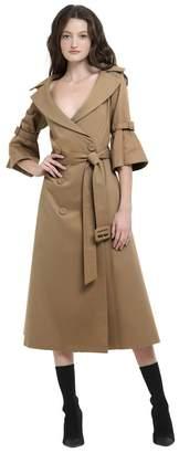 Alice + Olivia Carver Short Sleeve Trench Coat
